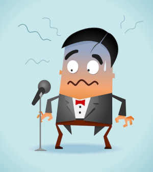 how to overcome stage fright